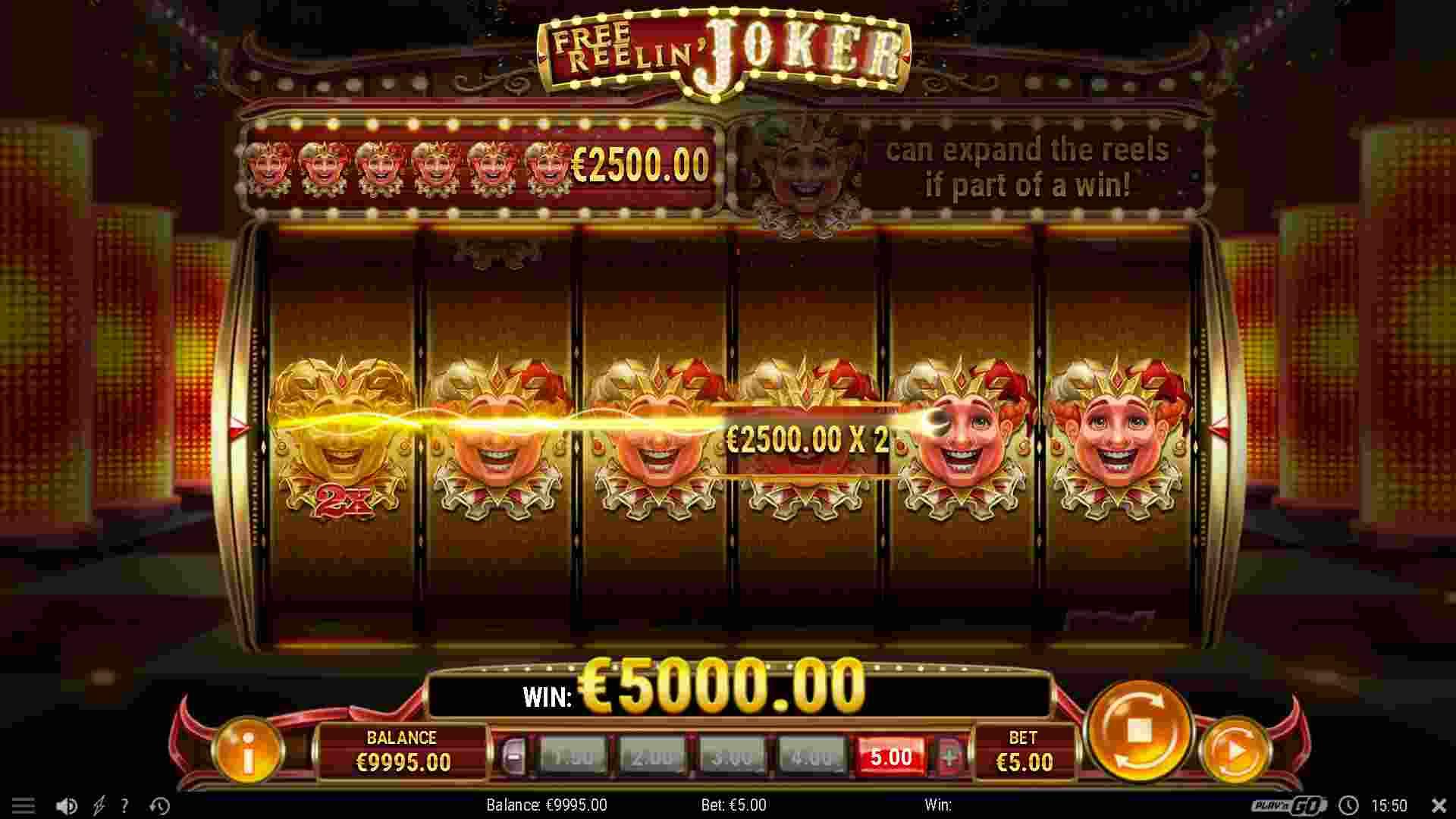 Free Reelin' Joker Gameplay 2