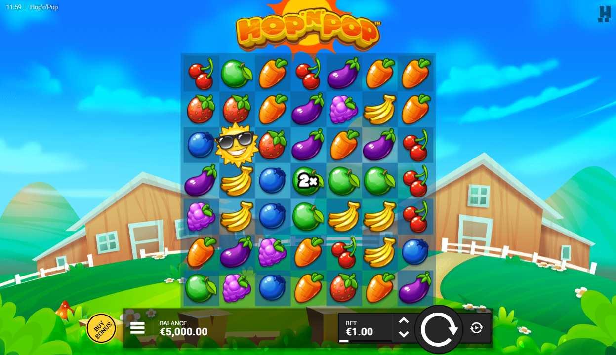 Hop 'N' Pop Slot Gameplay