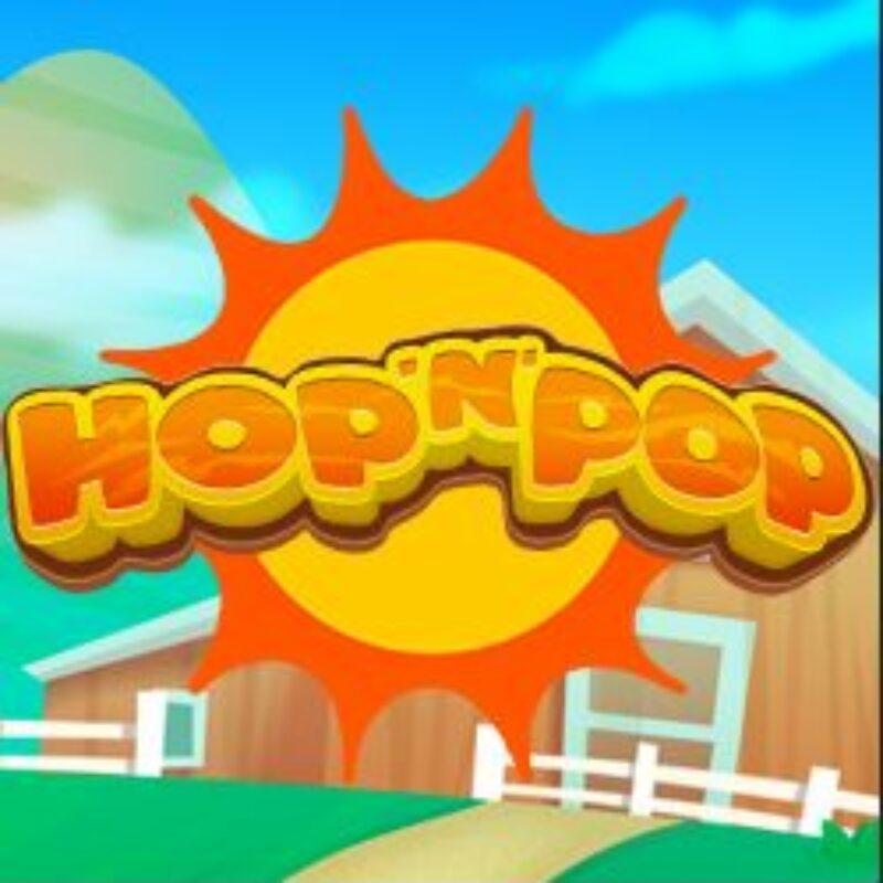 Hop 'n' Pop Slot Logo