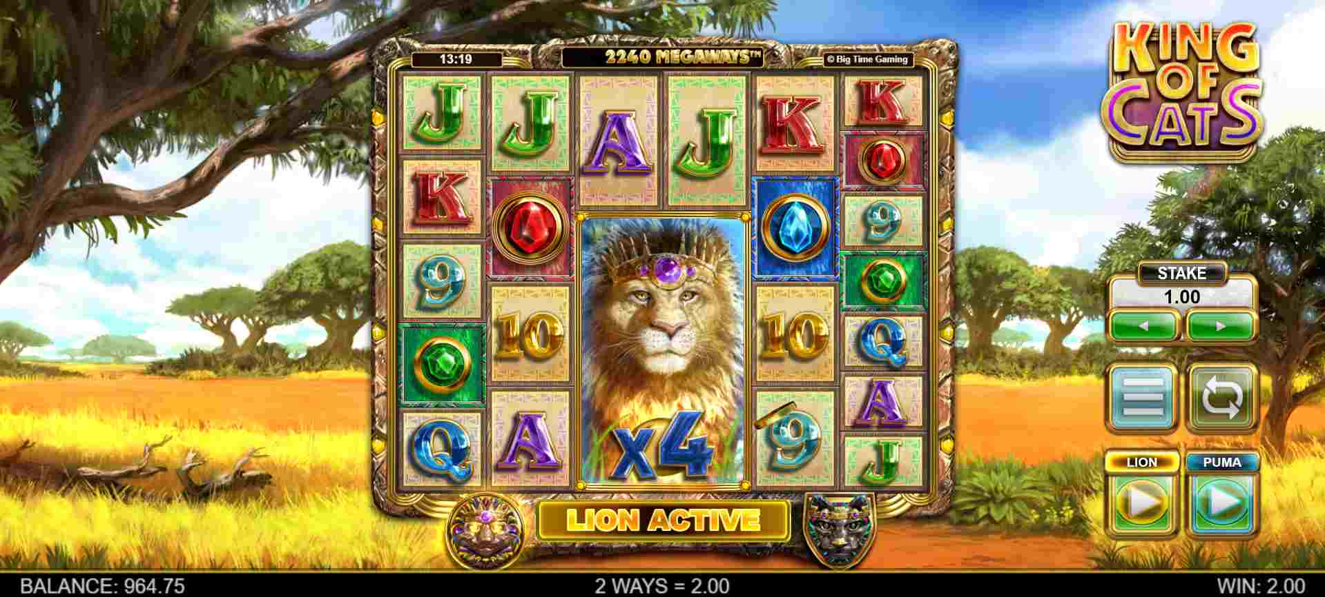 King of Cats Gameplay 2
