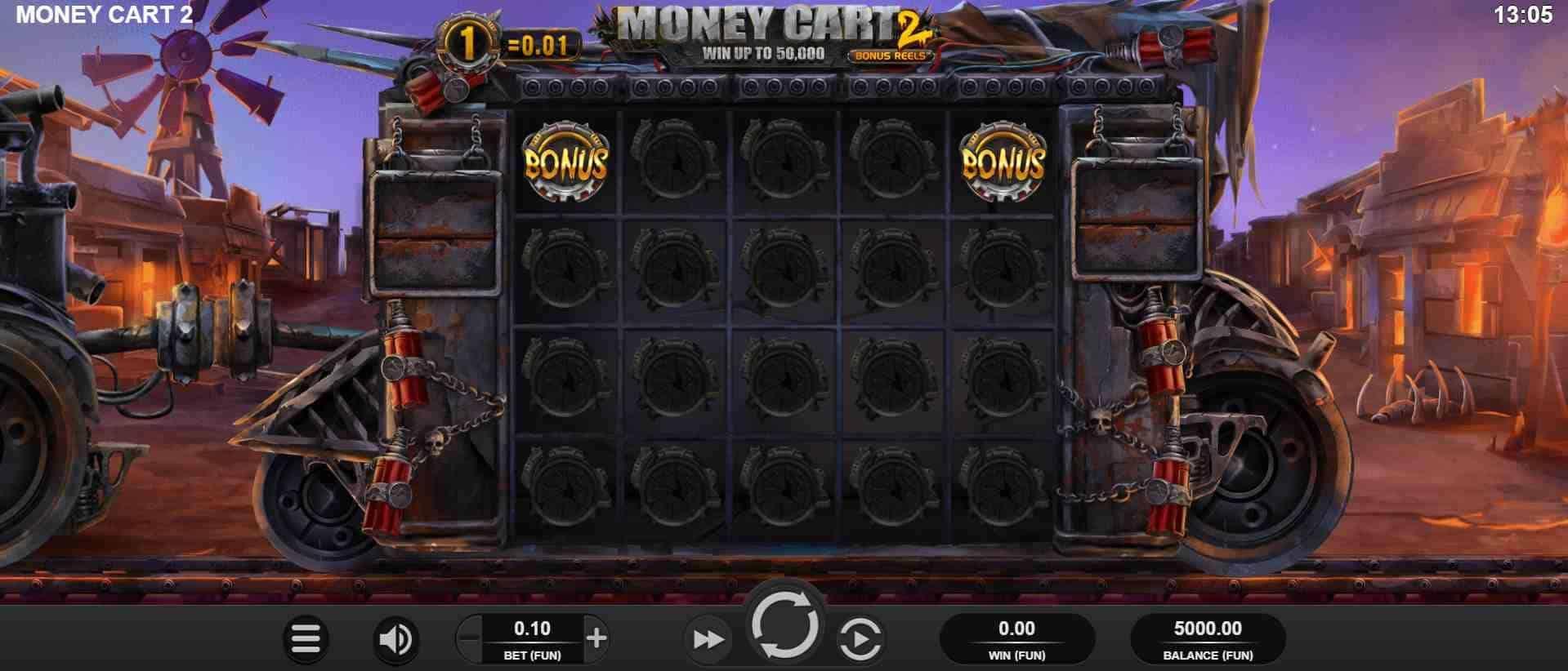 Money Cart 2 Slot Base