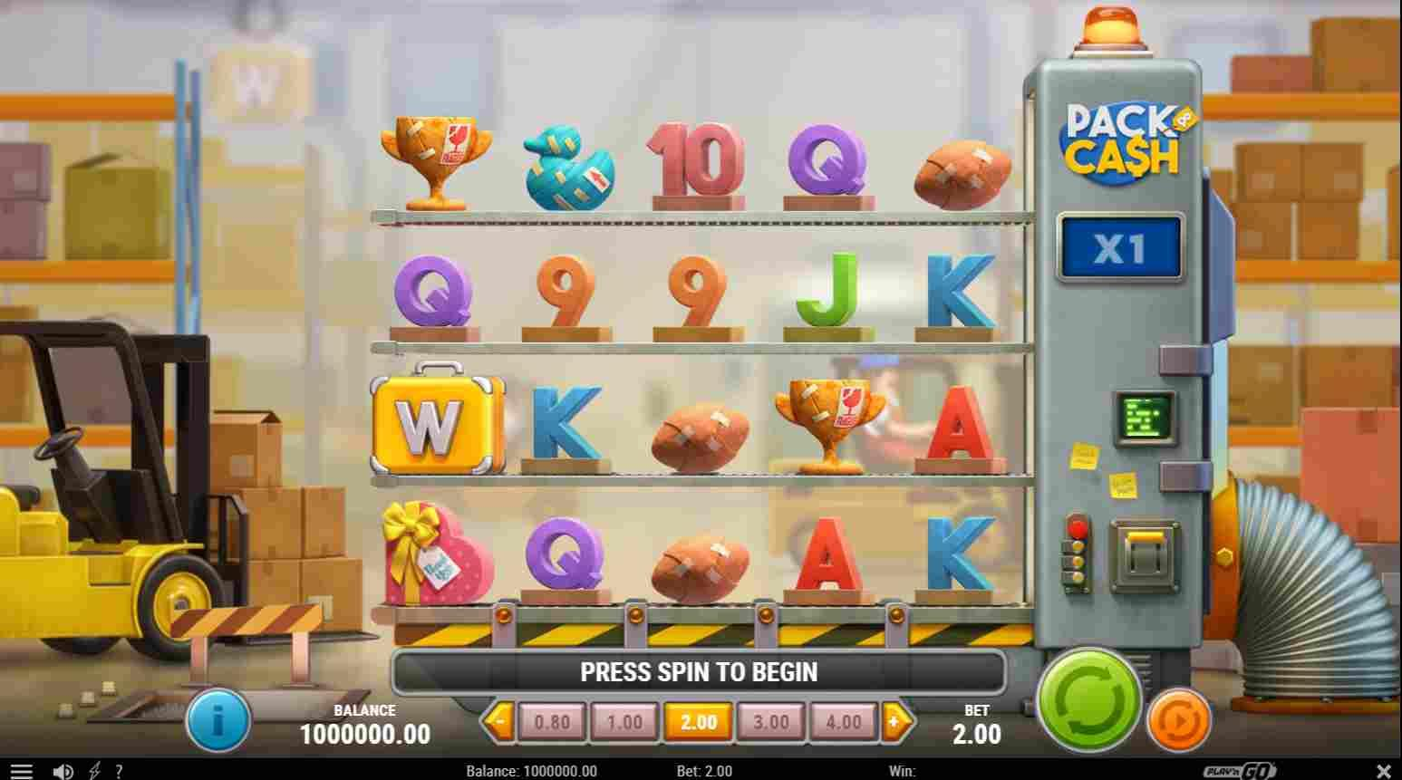 Pack and Cash Slot Base