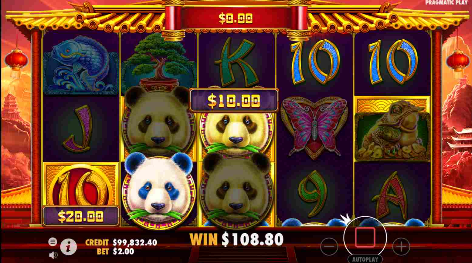 Panda's Fortune 2 Free Spins