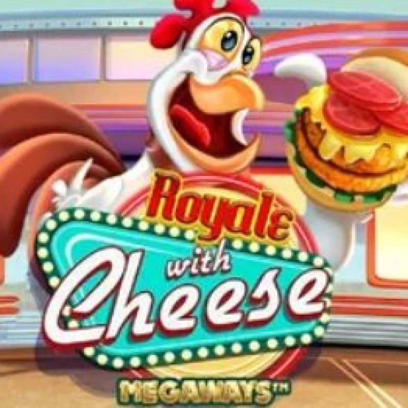 Royale with Cheese Megaways Slot Logo