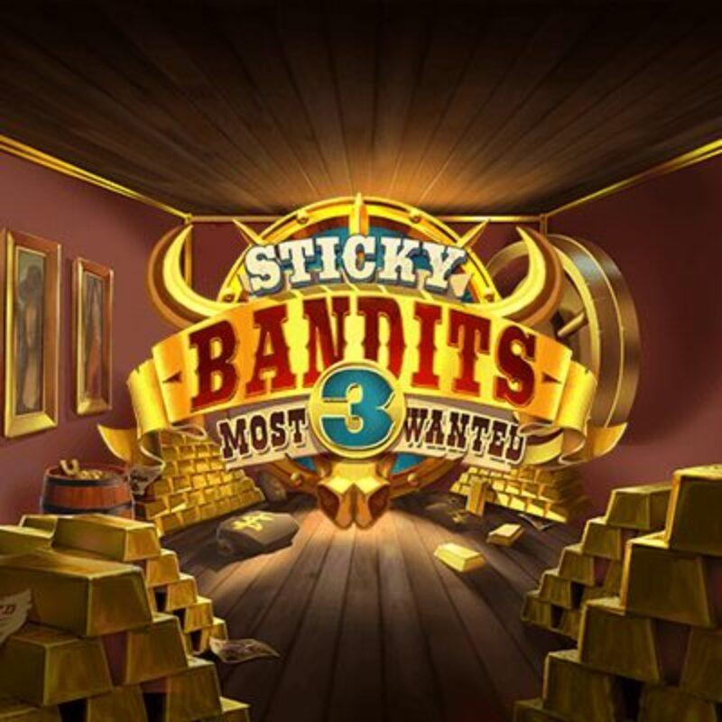 Sticky Bandits 3 Most Wanted Logo