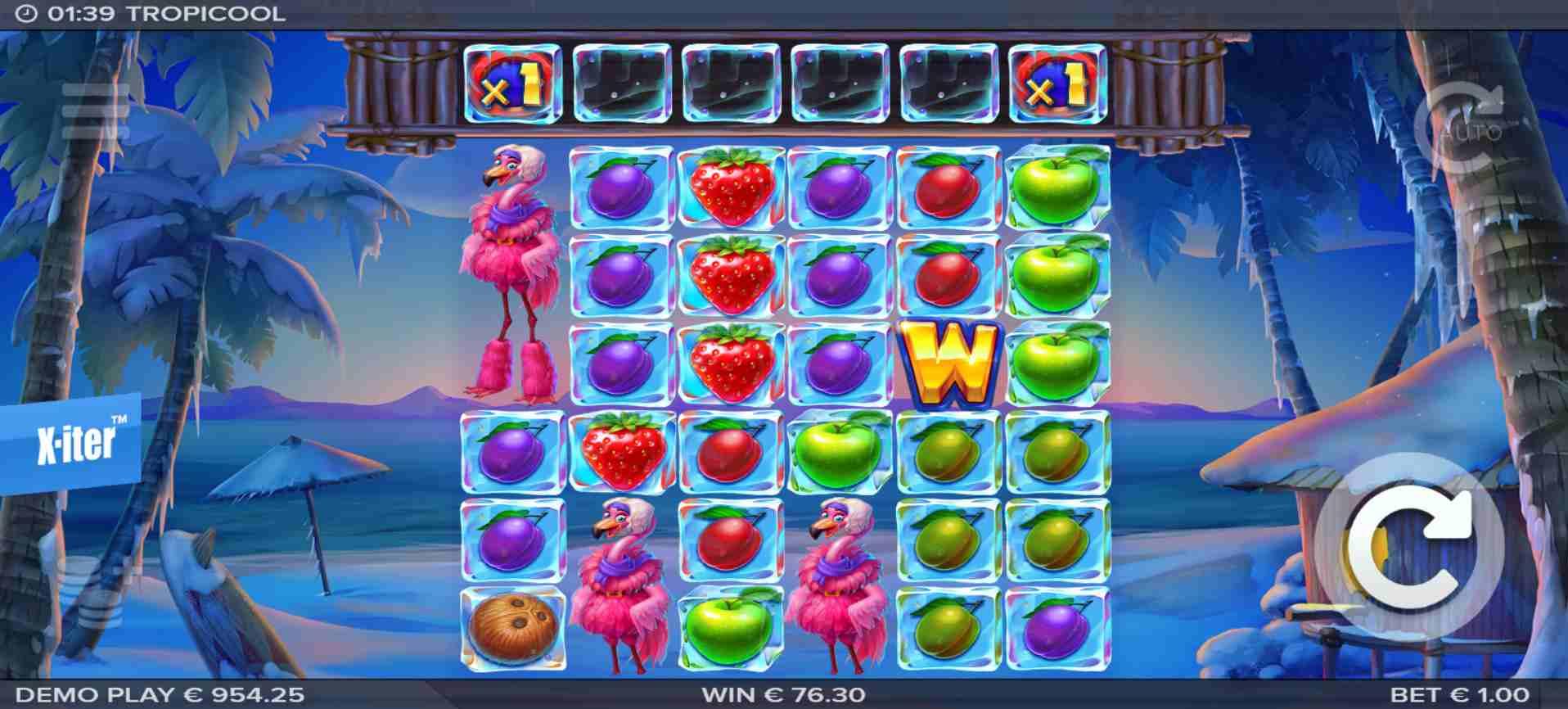 Tropicool Slot Base Game