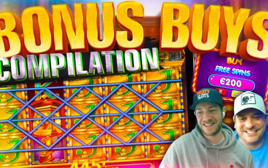 BONUS BUYS! 50 Online Slot Bonuses With Jamie + Josh!