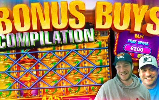 BONUS BUYS! 50 Online Slot Bonuses With Jamie + Josh!