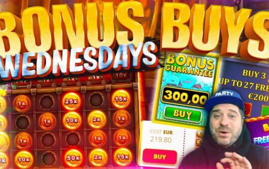BONUS BUY WEDNESDAY! 49 Online Slot Bonuses!