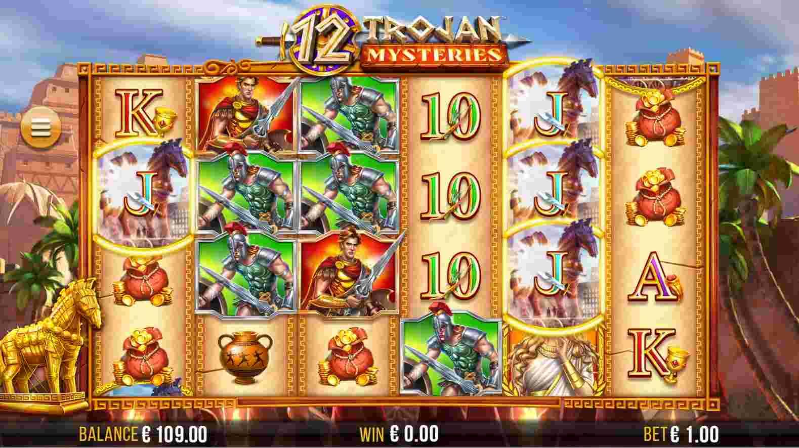 12 Trojan Mysteries Base
