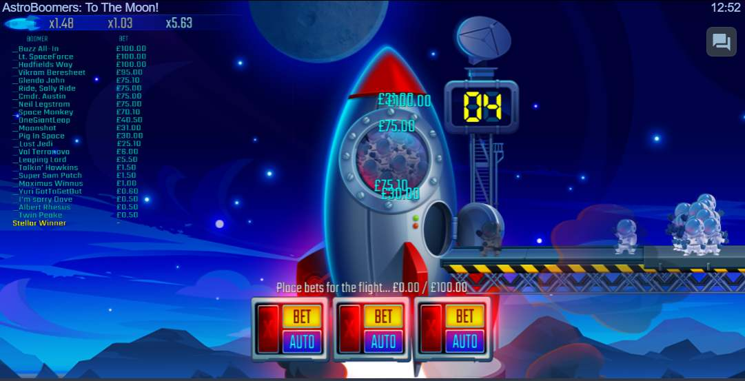 AstroBoomers To the Moon Base