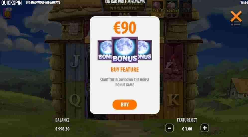 Big Bad Wolf Megaways Bonus Buy