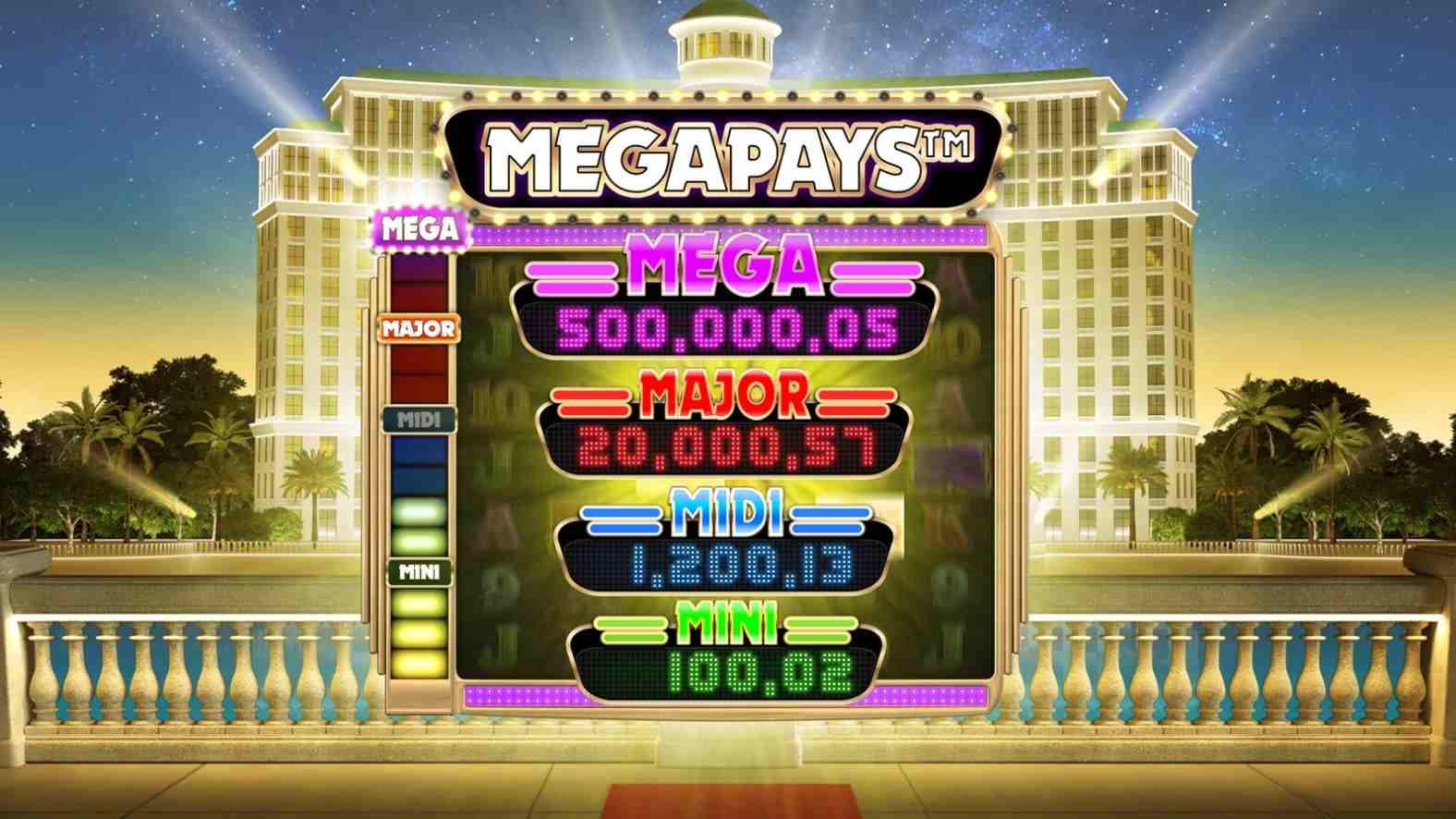 Bonanza Megapays Jackpot