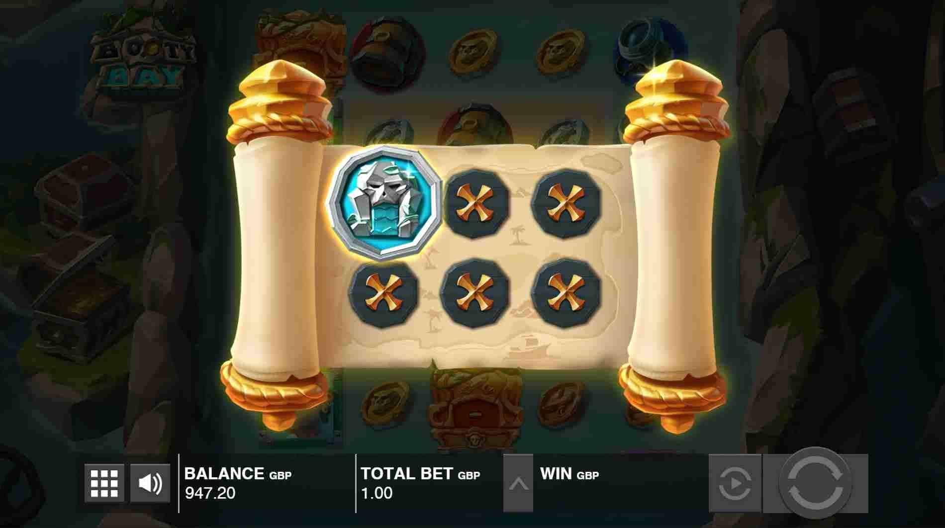 Booty Bay Slot Treasure Map