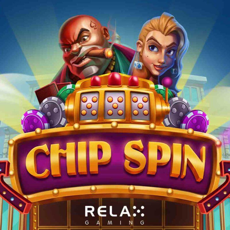 Chip Spin Slot Logo