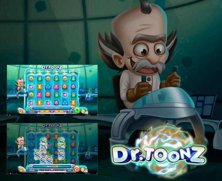 Dr Toonz Slot Preview