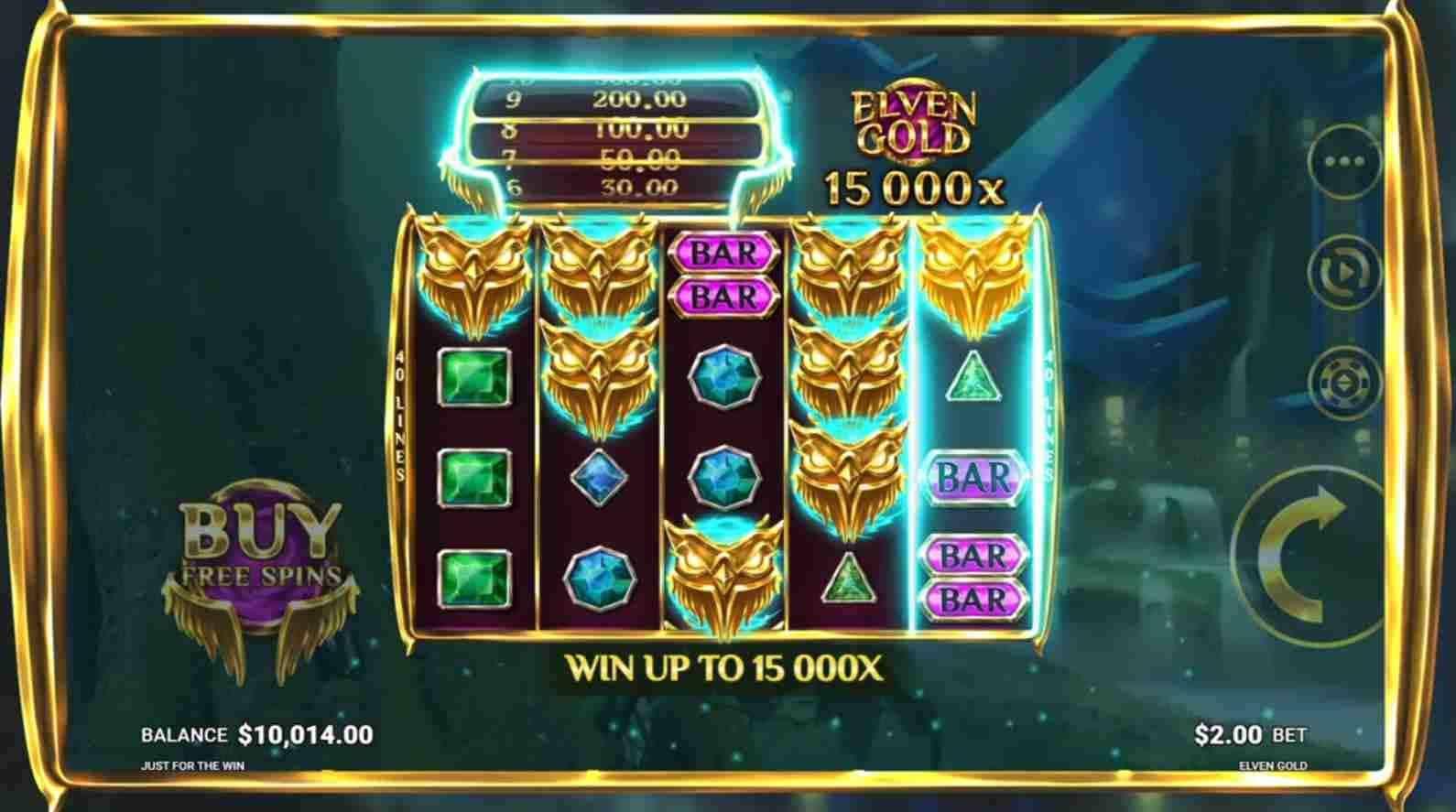Elven Gold Slot Gameplay