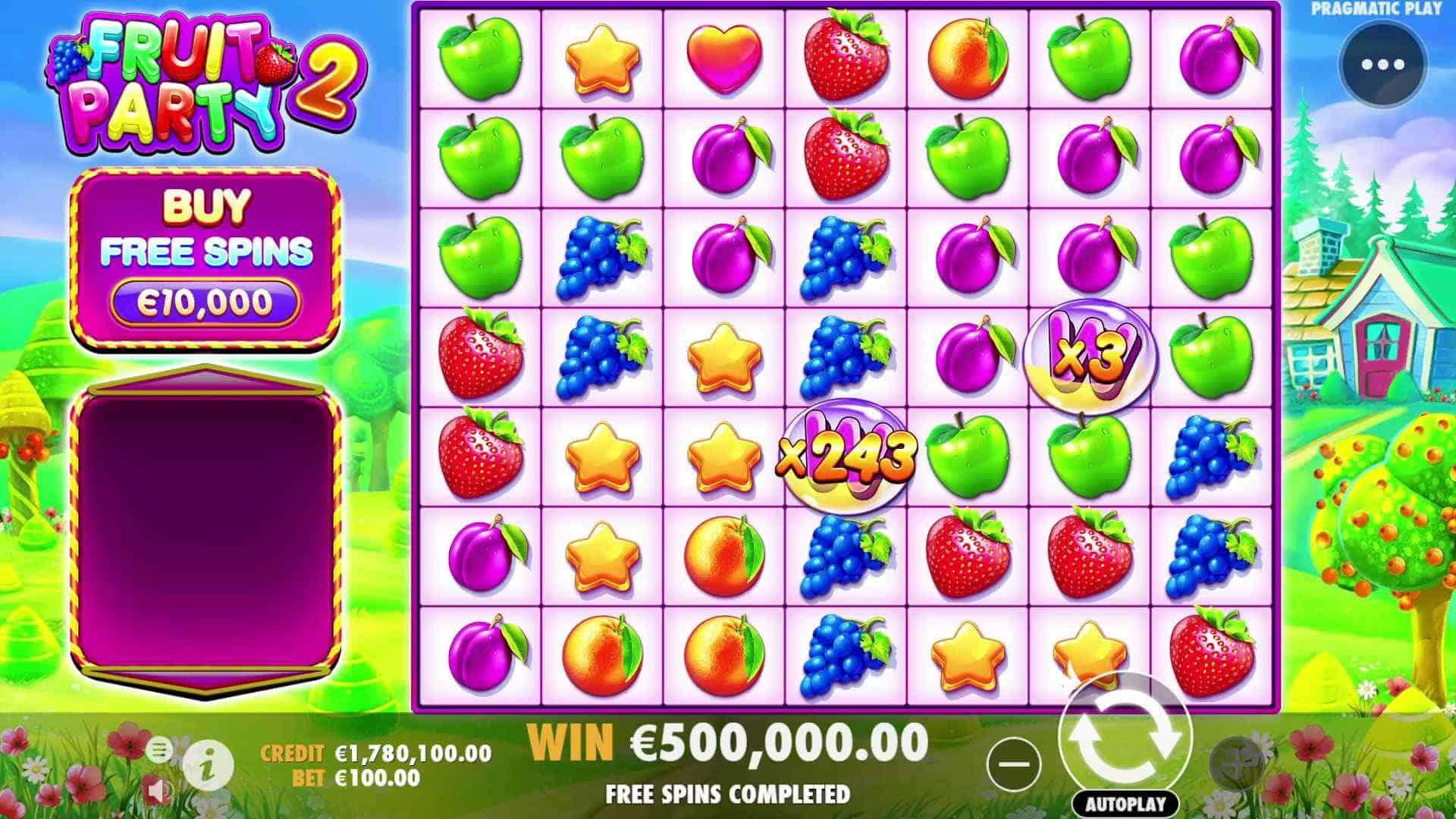 Fruit Party 2 Slot Base