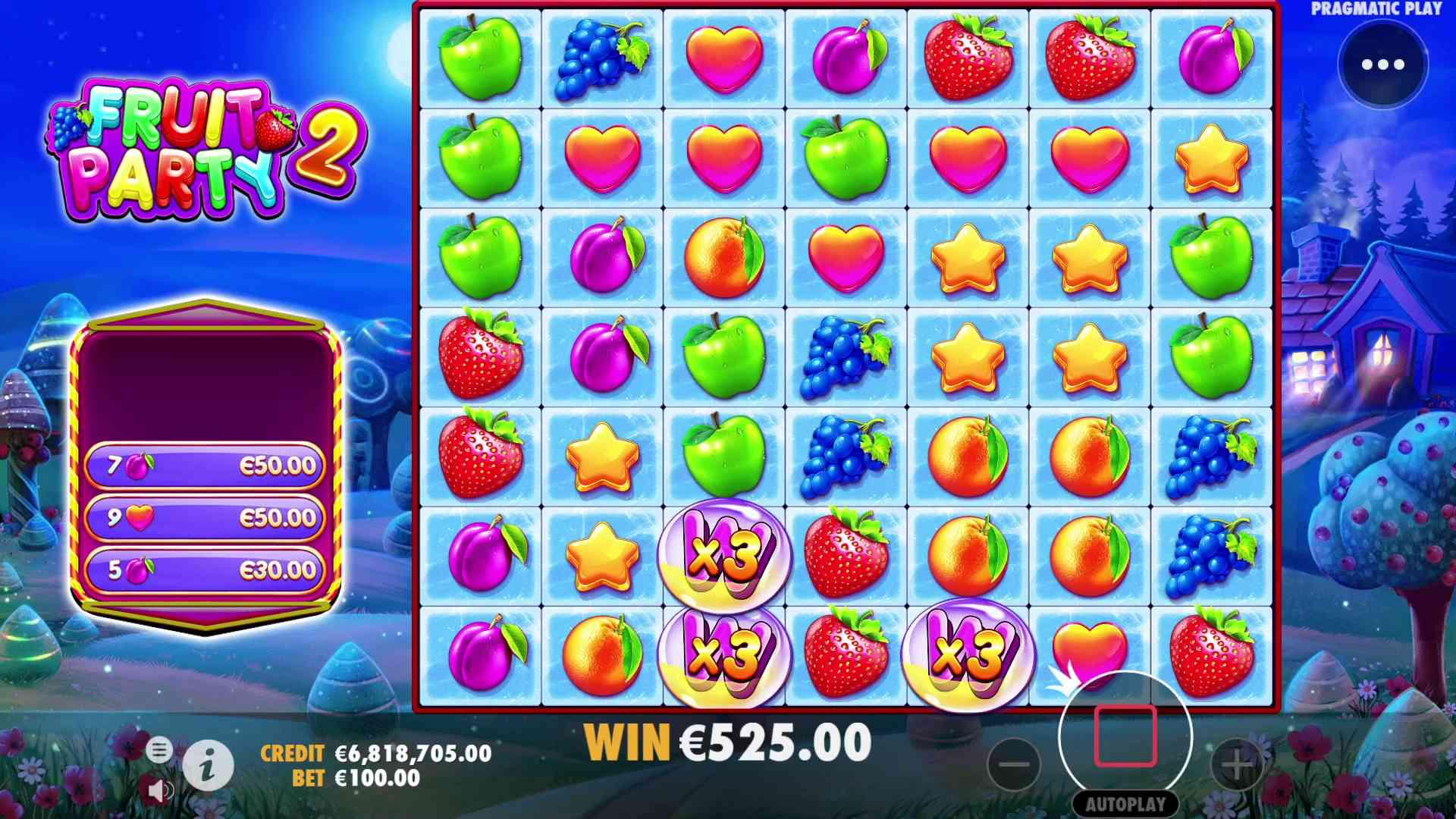 Fruit Party 2 Slot Free Spins