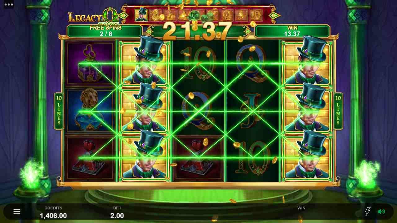 Legacy of Oz Free Spins