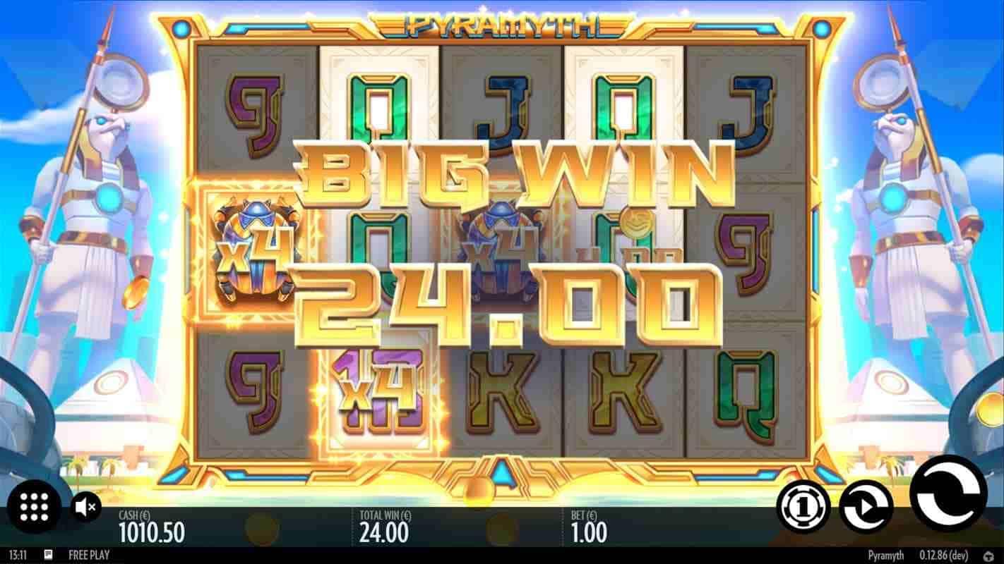 Pyramyth Big Win Base Game
