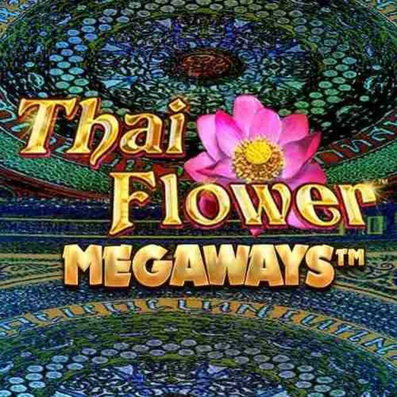 Thai Flower Megaways Slot Logo