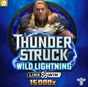 Thunder Struck Wild Lightning Slot Logo