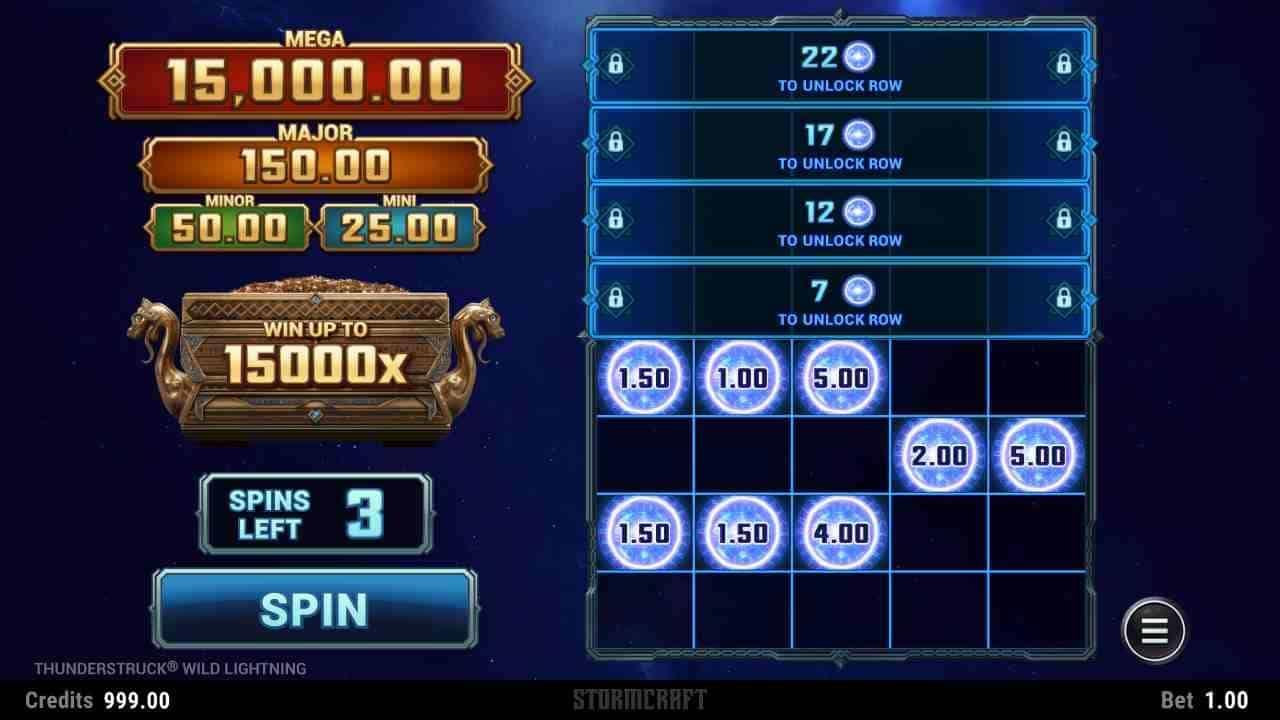 Thunderstruck Wild Lightning Slot LinkandWin