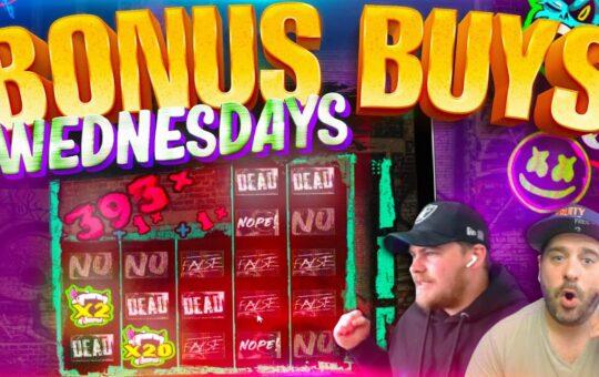 BIG WINS!! BONUS BUY WEDNESDAY – feat Jamie And Scotty