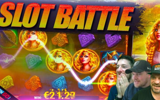 SLOTS BATTLE SUNDAY! Feat Play N Go Latest Releases!