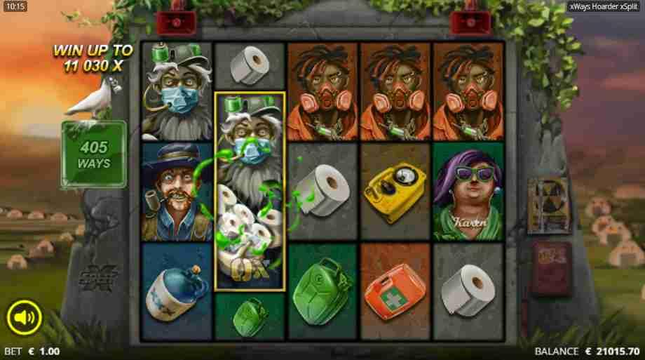 xWays Hoarder xSplit Slot Base Game