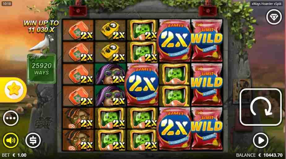 xWays Hoarder xSplit Slot xSplit Feature