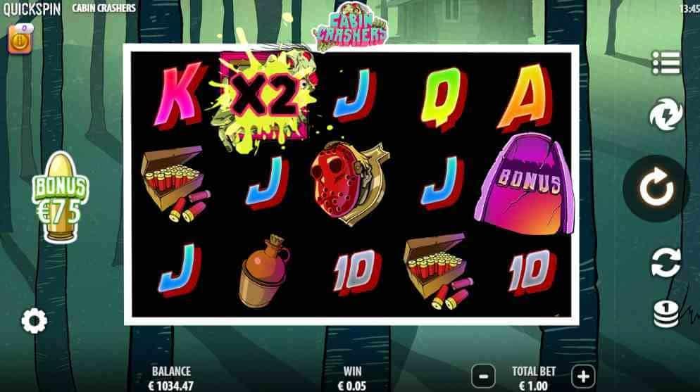 Cabin Crashers Slot Base Game