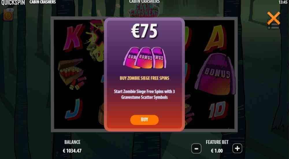 Cabin Crashers Slot Bonus Buy