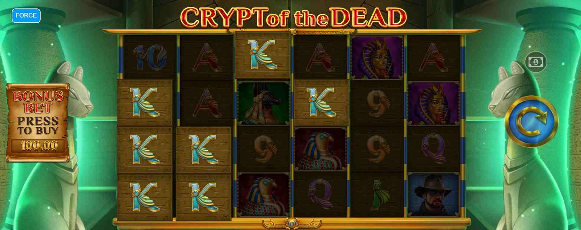 Crypt of Dead Slot Base Game
