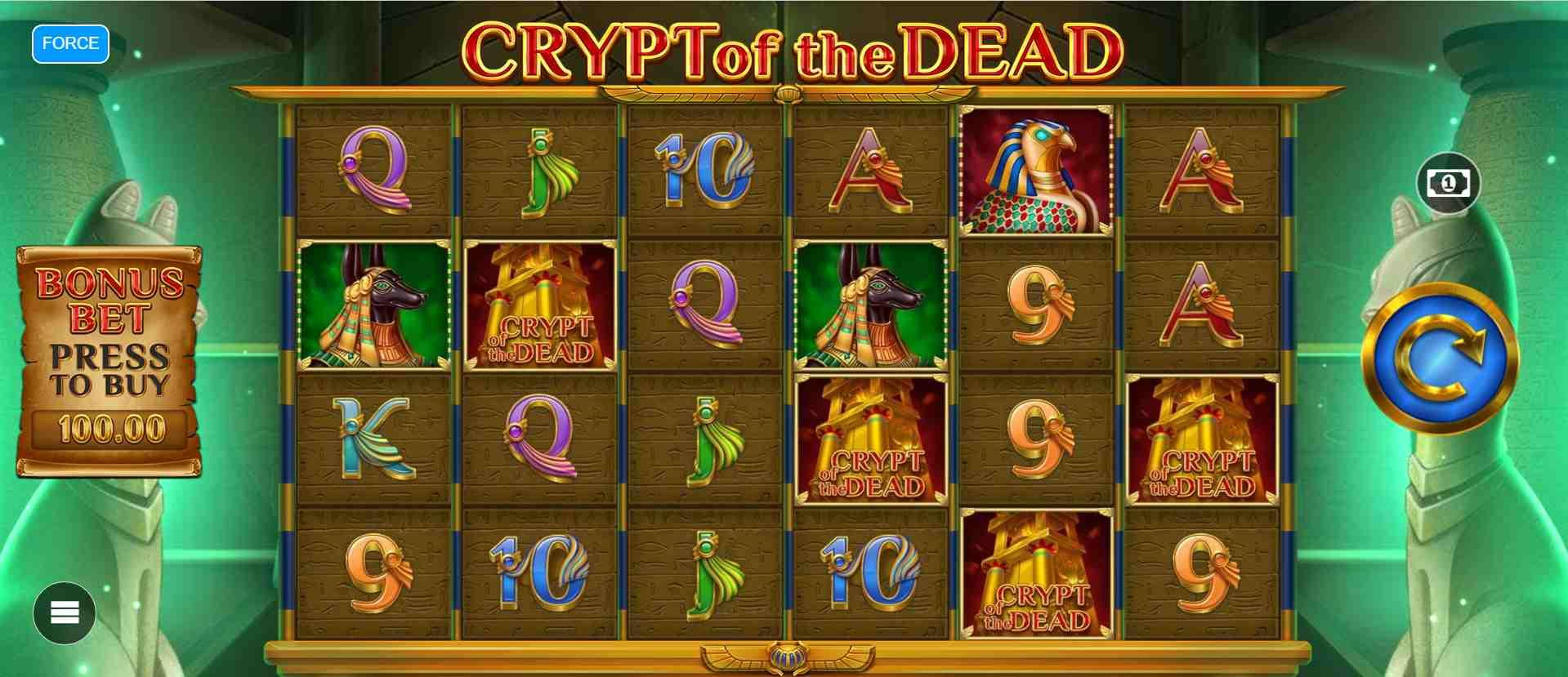 Crypt of the Dead Slot Base
