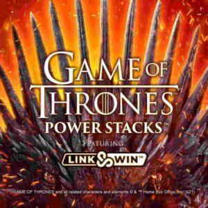 Game of Thrones Power Stacks Slot Logo