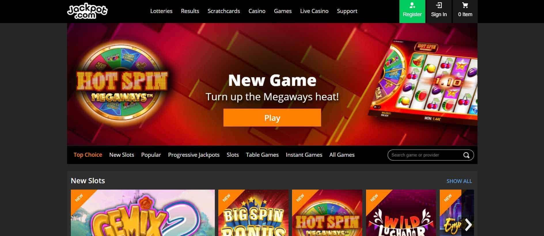 Jackpot.com Slots