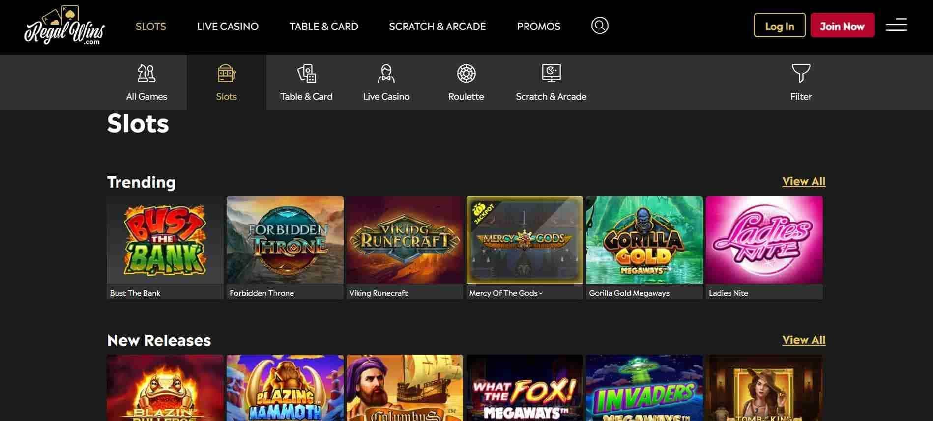 Regal Wins Casino Slots
