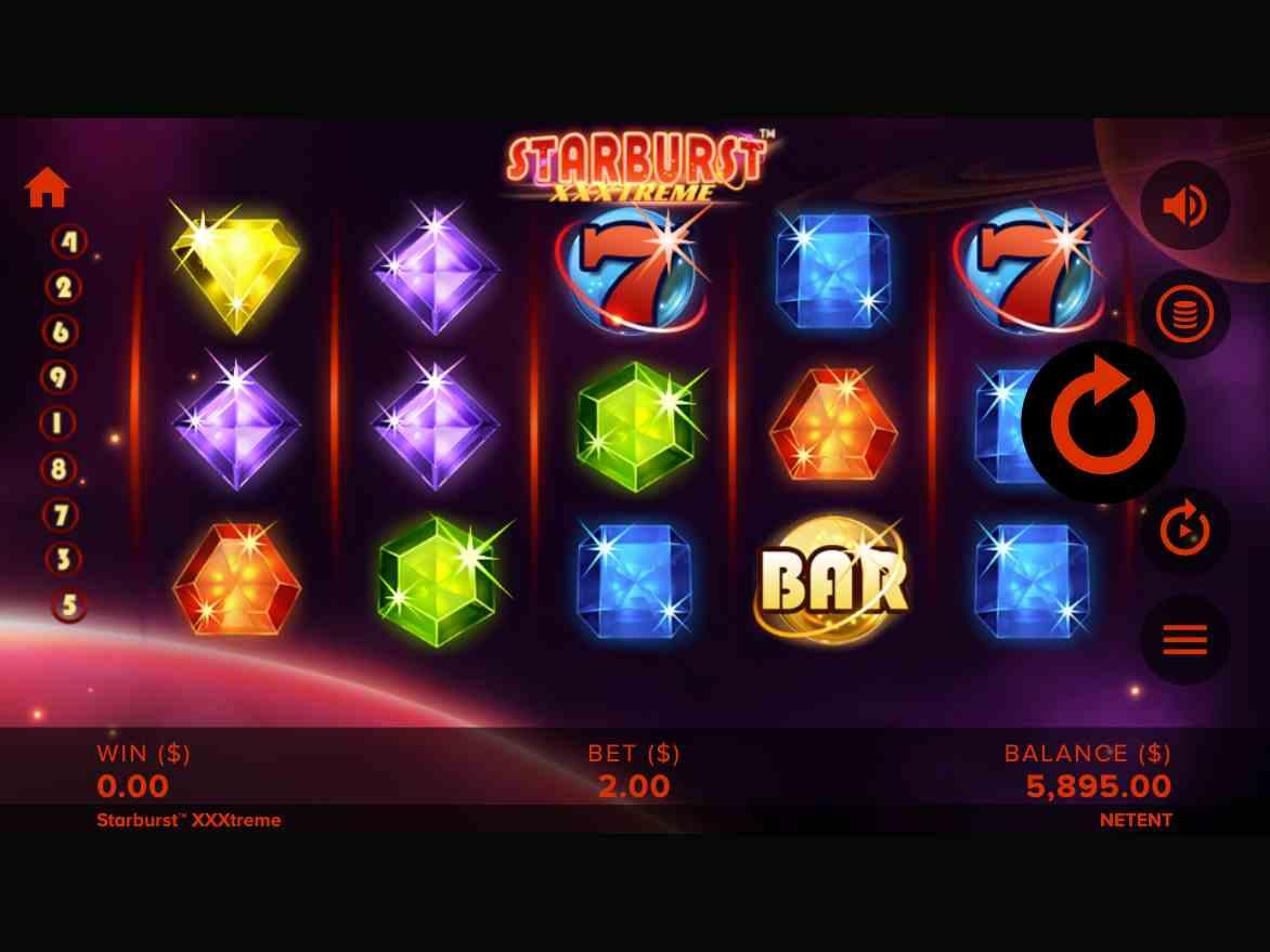 Starburst XXXtreme Slot Base