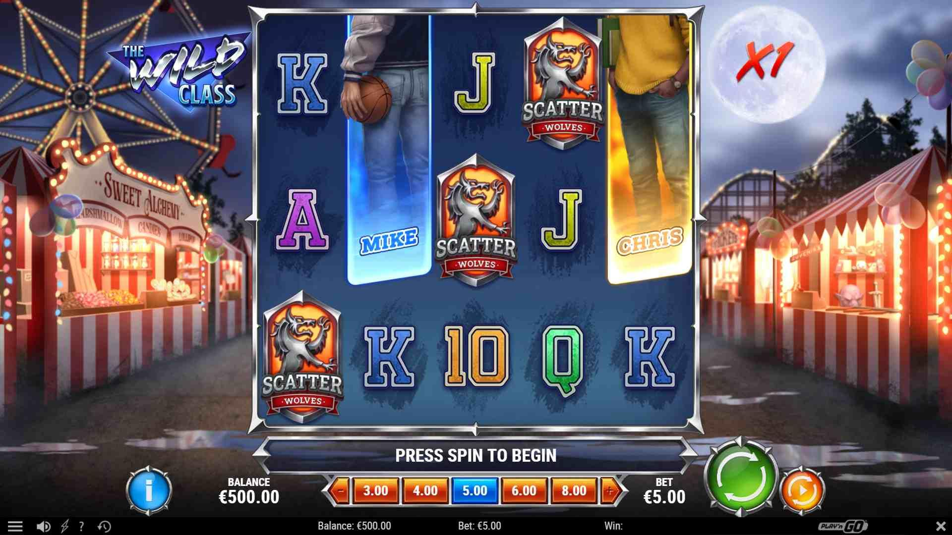 The Wild Class Slot Free Spins