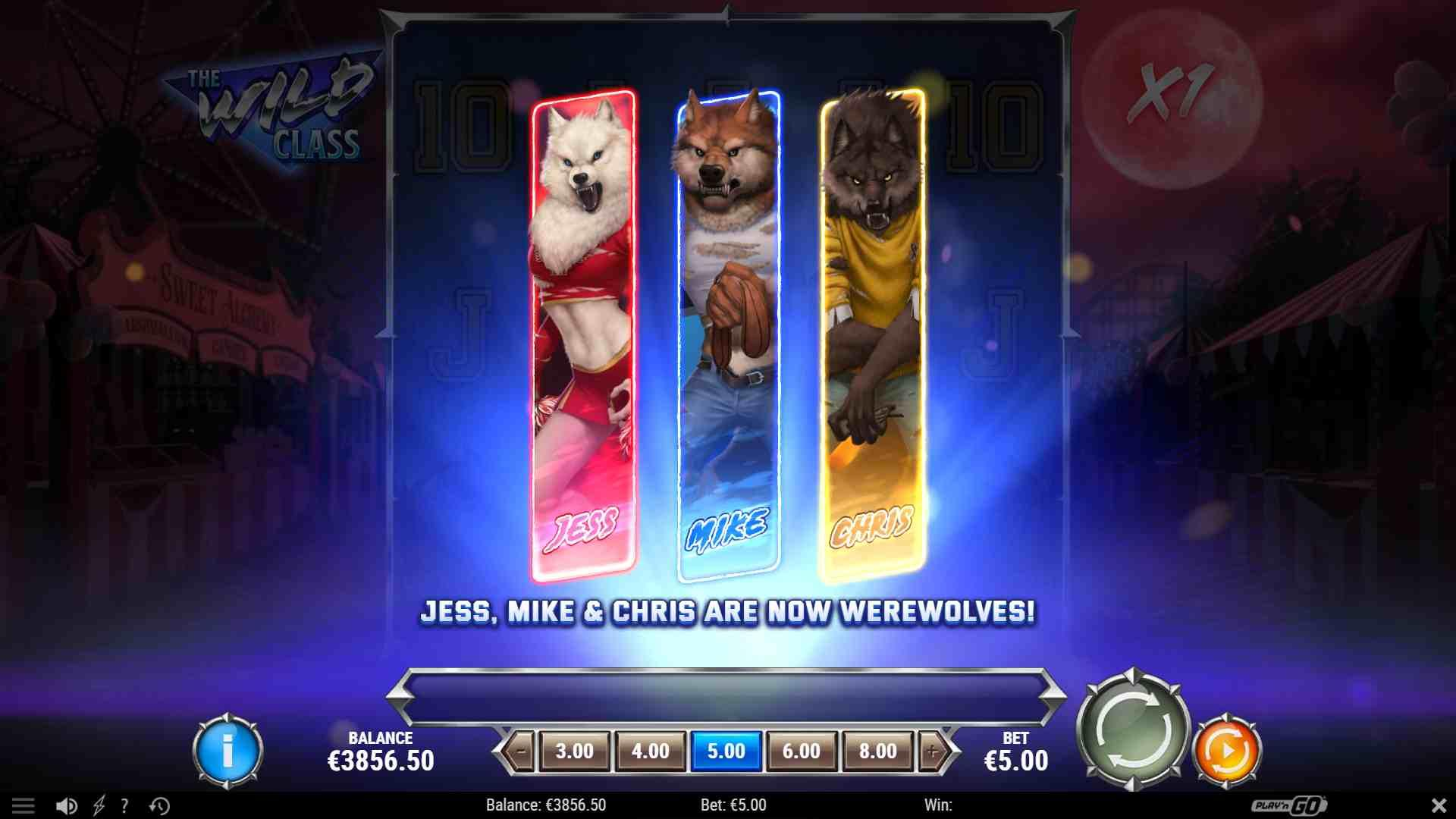 The Wild Class Slot Game Image
