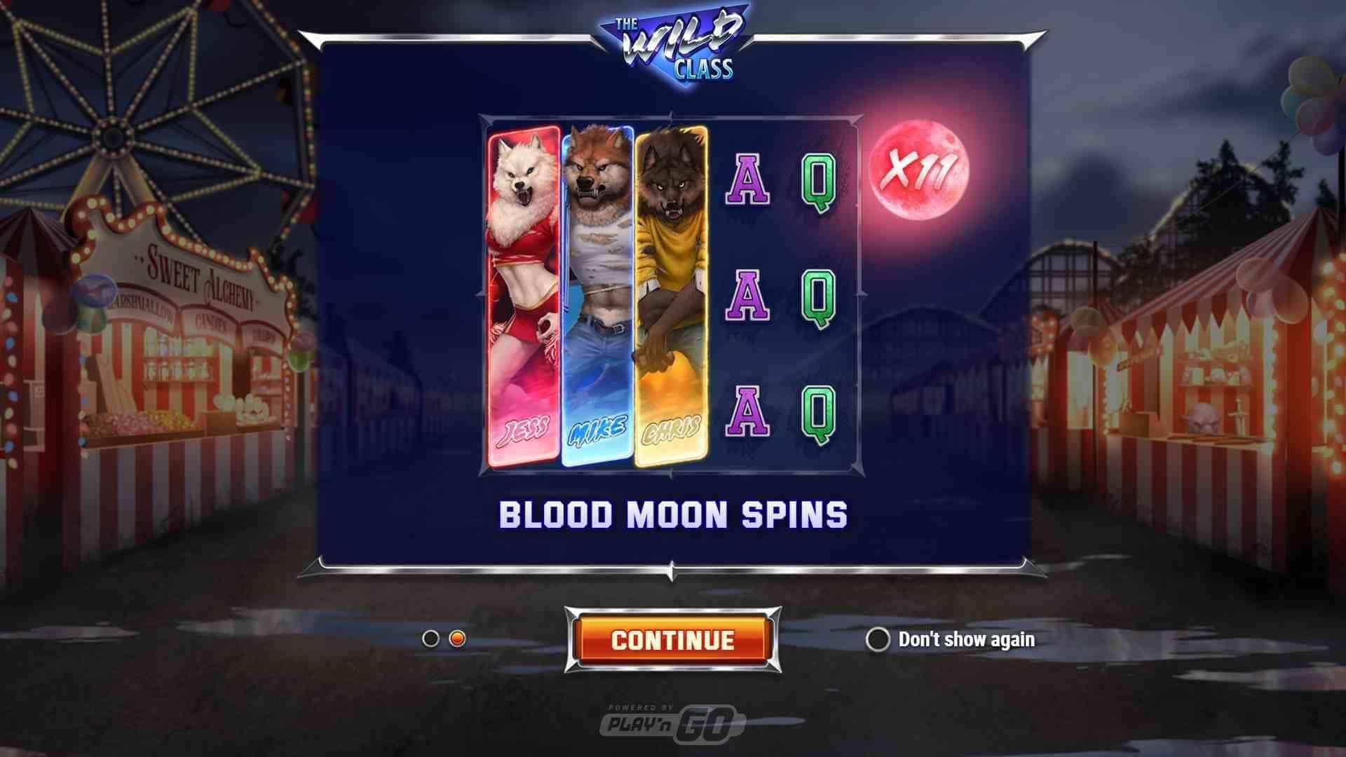 The Wild Class Slot Gameplay