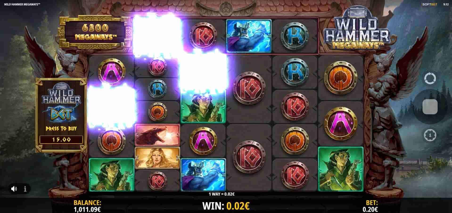 Wild Hammer Megaways Base Game