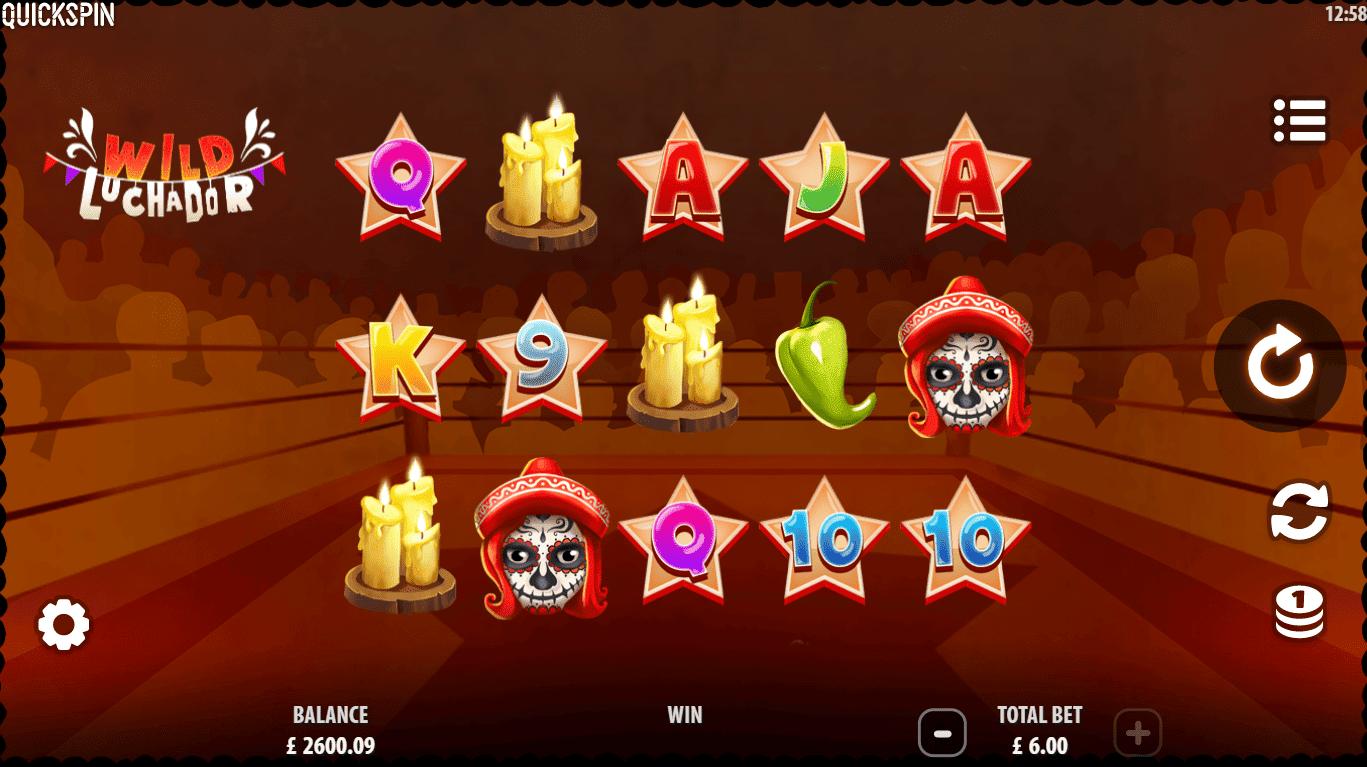 Wild Luchador Slot Gameplay
