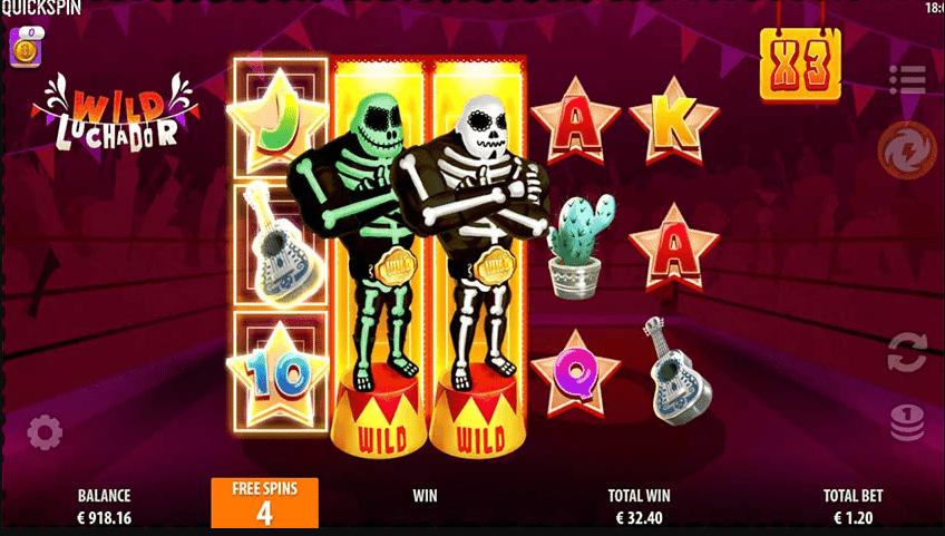 Wild Luchador Slot Win