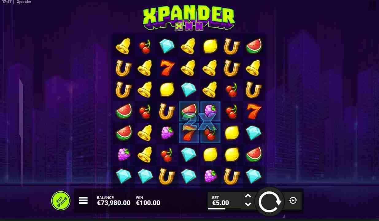 Xpander Slot Base Game
