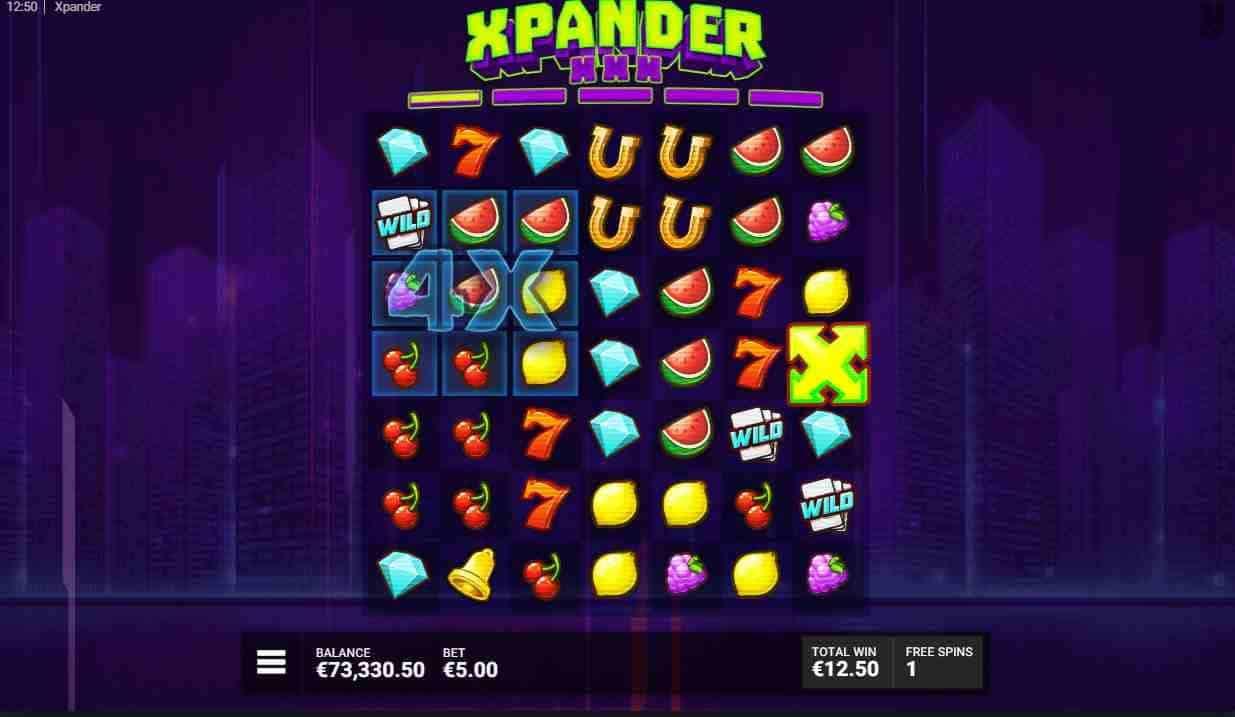 Xpander Slot Free Spins