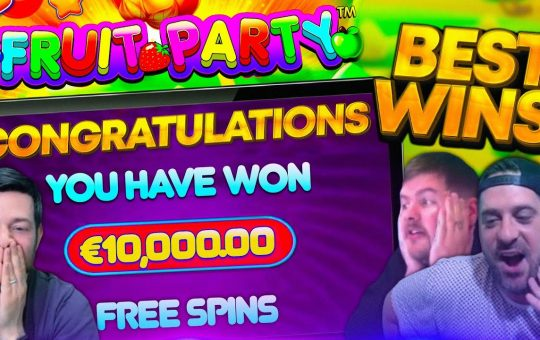 Lets have a MASSIVE FRUIT PARTY! 23 Bonuses Including The MAX WIN!