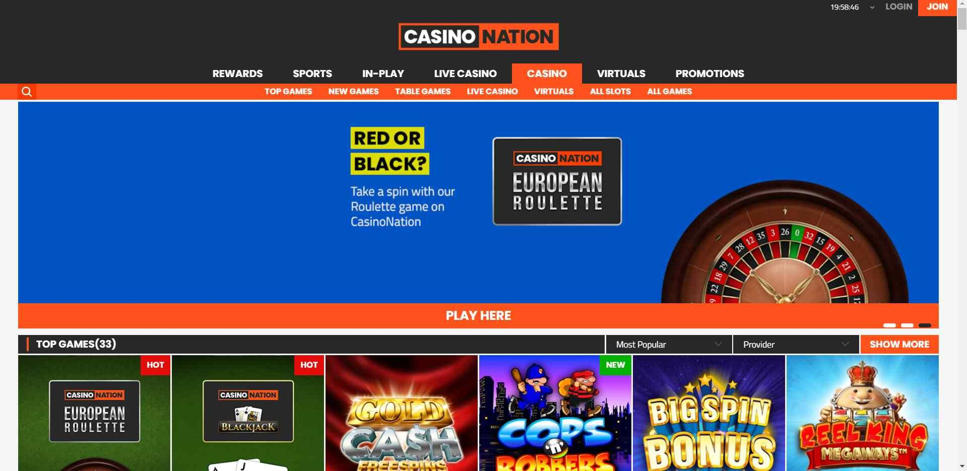 CasinoNation Slots